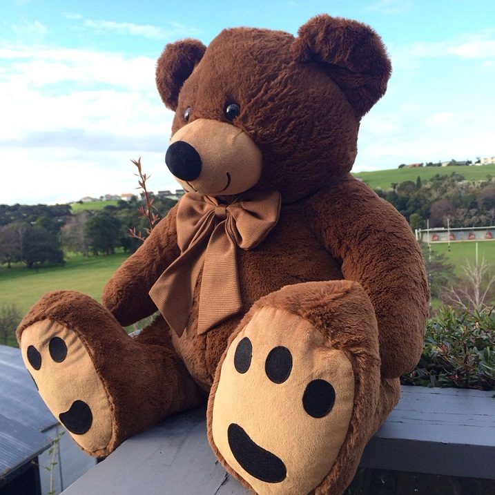 Roly Bear 90CM--Brown
